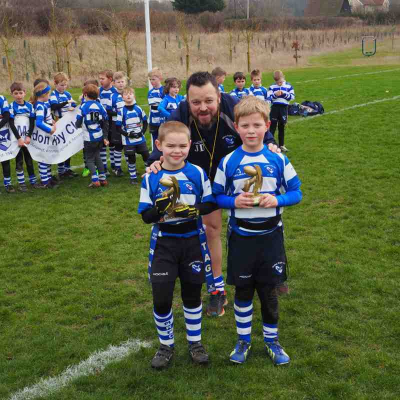 Maldon U8s v Sudbury - 12 March Part 2