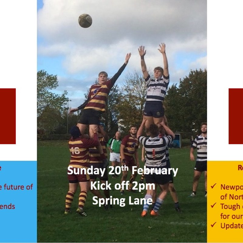 Colts take on Newport in N Mids Cup