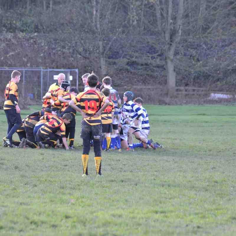 Tyne dale B team U14's V Consett U'14s