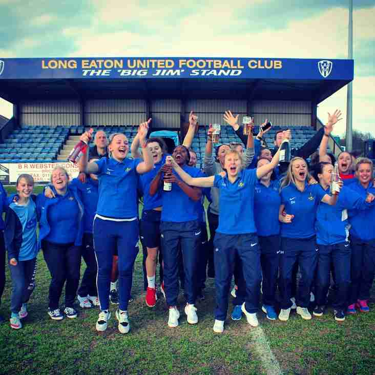 LONG EATON UNITED LADIES LEAGUE CHAMPIONS!!
