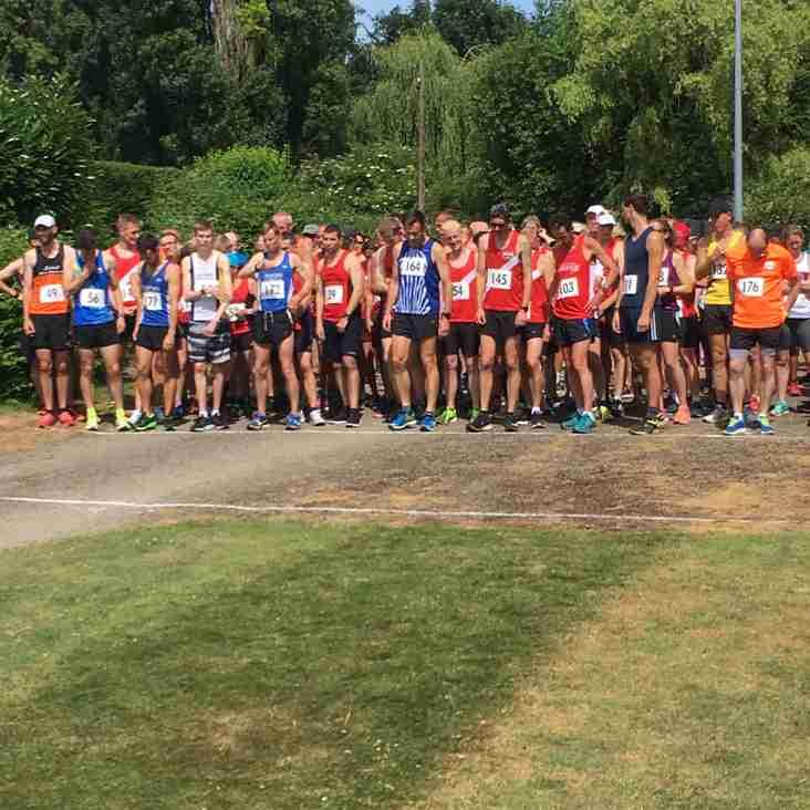John O'Callaghan 5 mile  results - June 24 2018