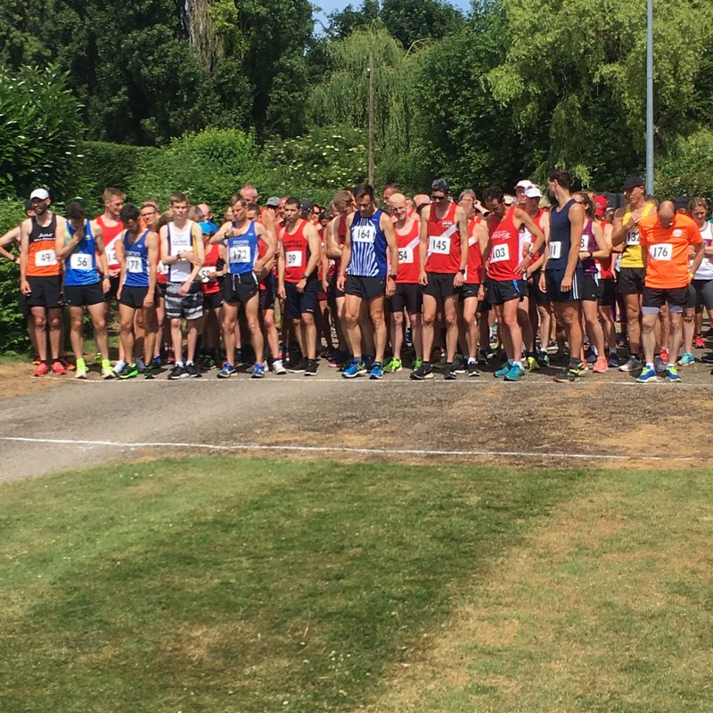 John O'Callaghan 5 mile provisional results - June 24 2018