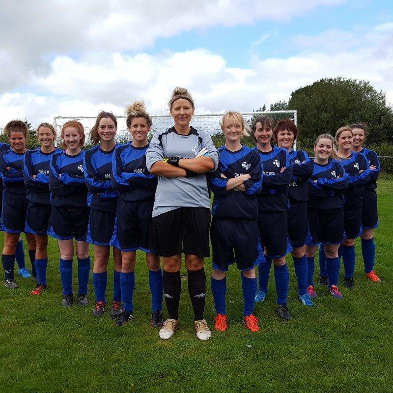 Llanfair come out top in local derby against Llanidloes ladies