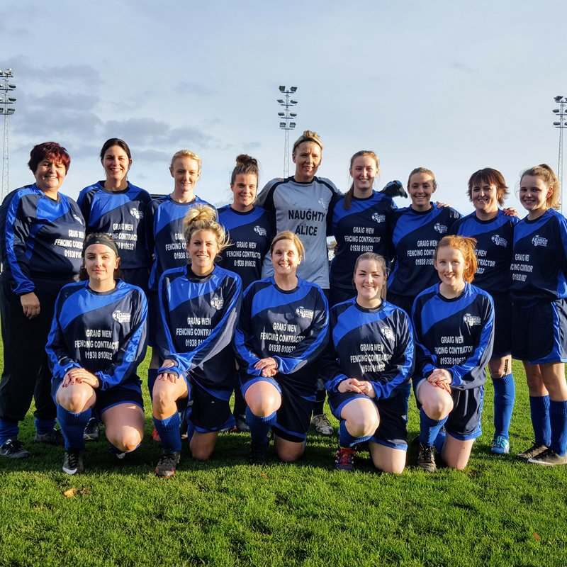 The ladies return to league action but have to settle for a draw.