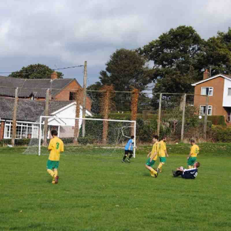 Llanfair Reserves V Trefonen