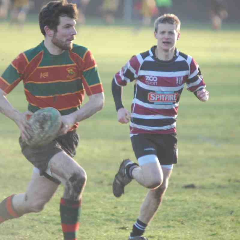 Brockleians 2s V Beccahamians 3s Friendly (H) 2015