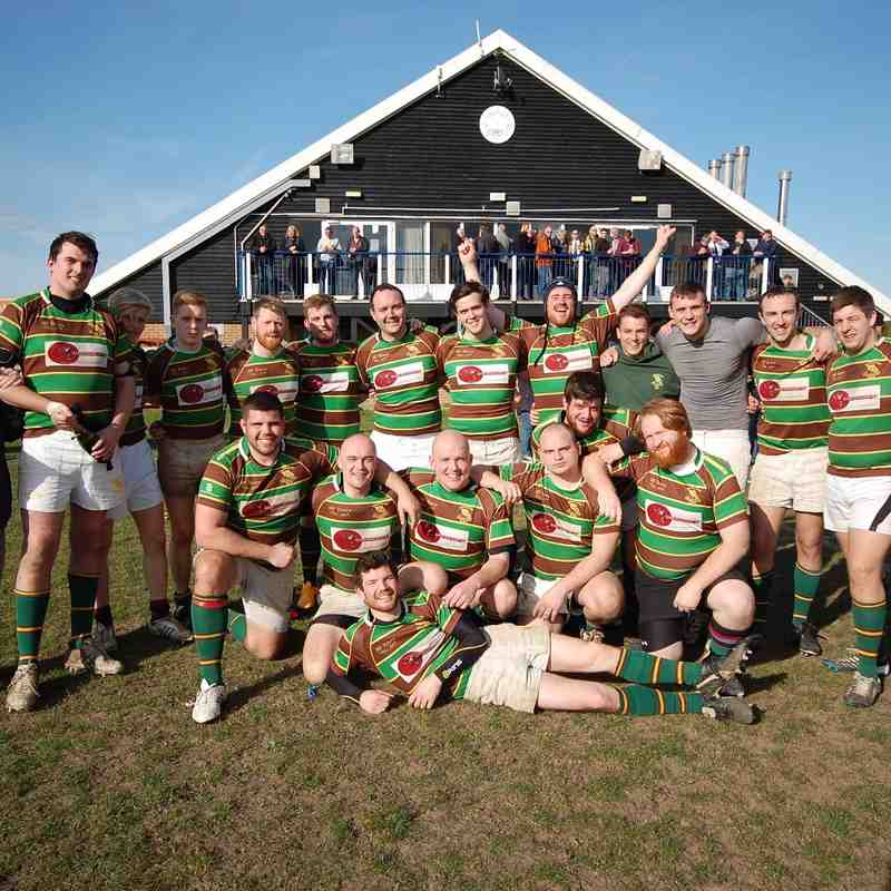 Brockleians RFC 1s V Whitstable 1s (A) 2015