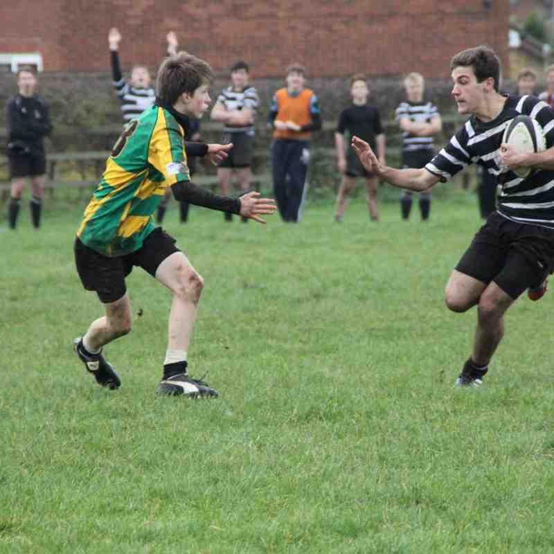 Chinnor U15's v Abingdon 16th November 2014