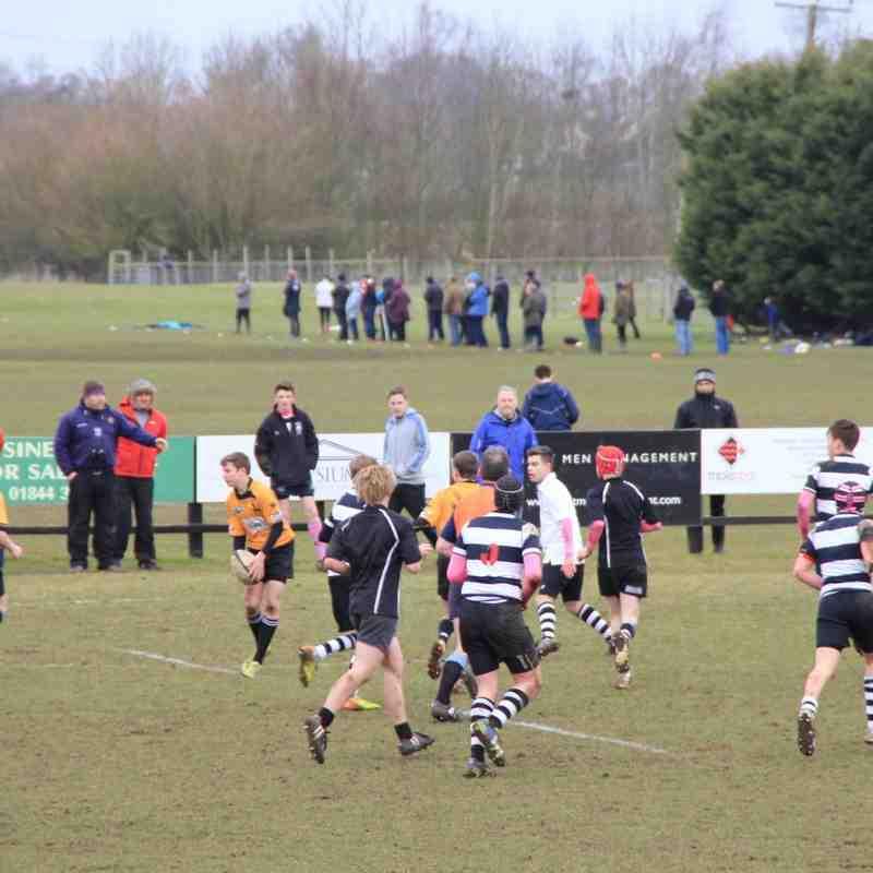Chinnor U15's v Stratford Upon Avon 22022015 OXON Cup Semi *