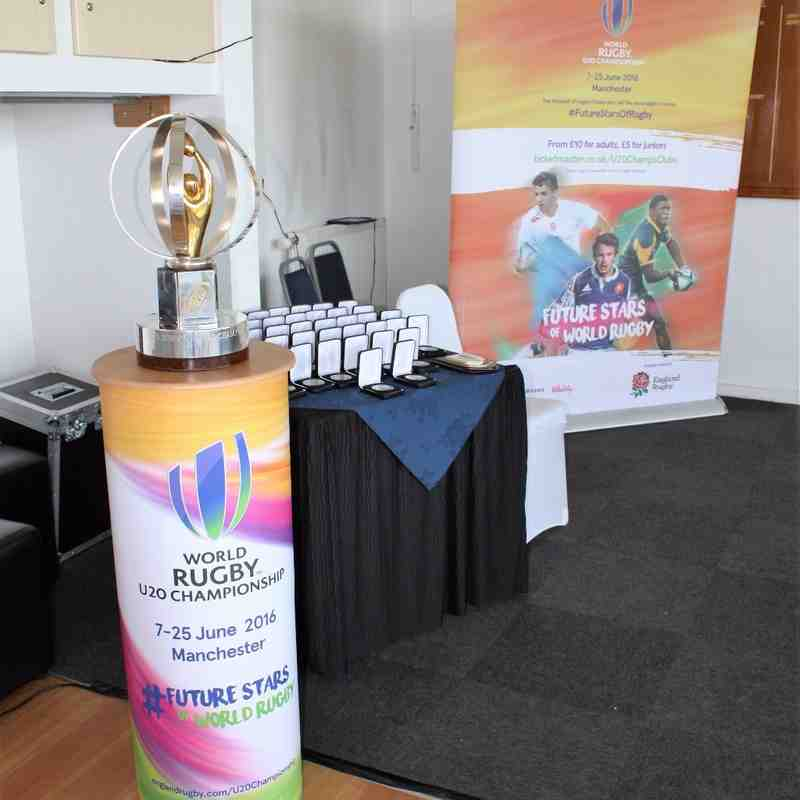 World Rugby Under 20 Championship - New Zealand Welcoming Ceremony