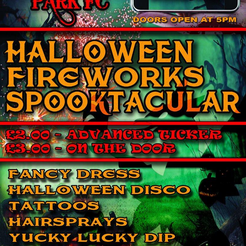 Halloween Fireworks Spooktacular