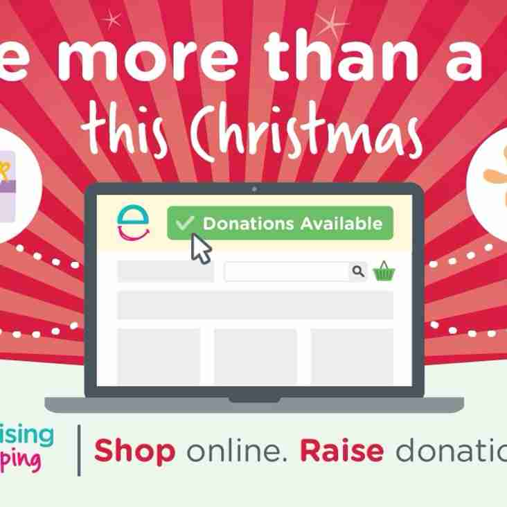Last minute Shopping? Remember Easyfundraising!