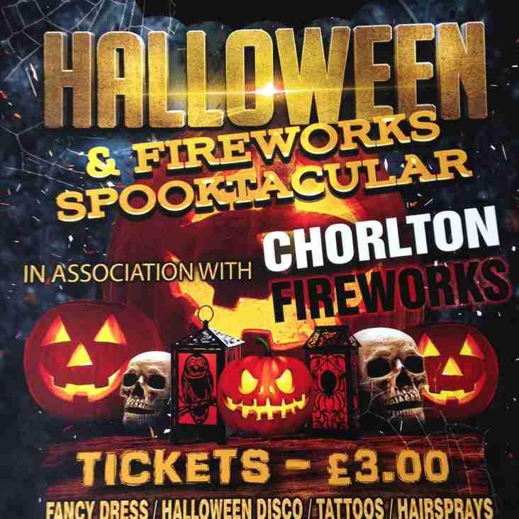 BPFC Halloween & Fireworks Spooktacular in association with Chorlton Fireworks