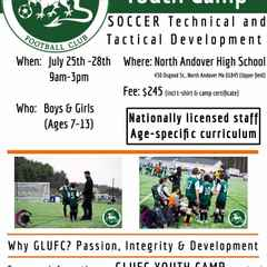 GLUFC to Hold Youth Camp July 25-28