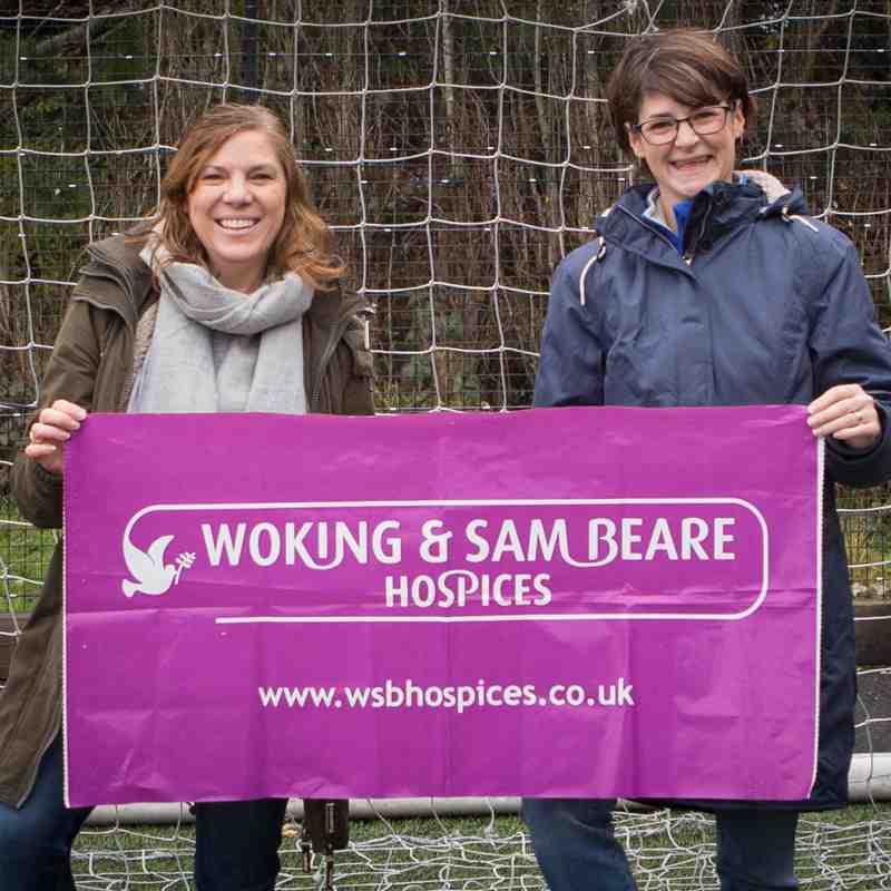 U9 2017-2018 Woking Hospice Kit Launch
