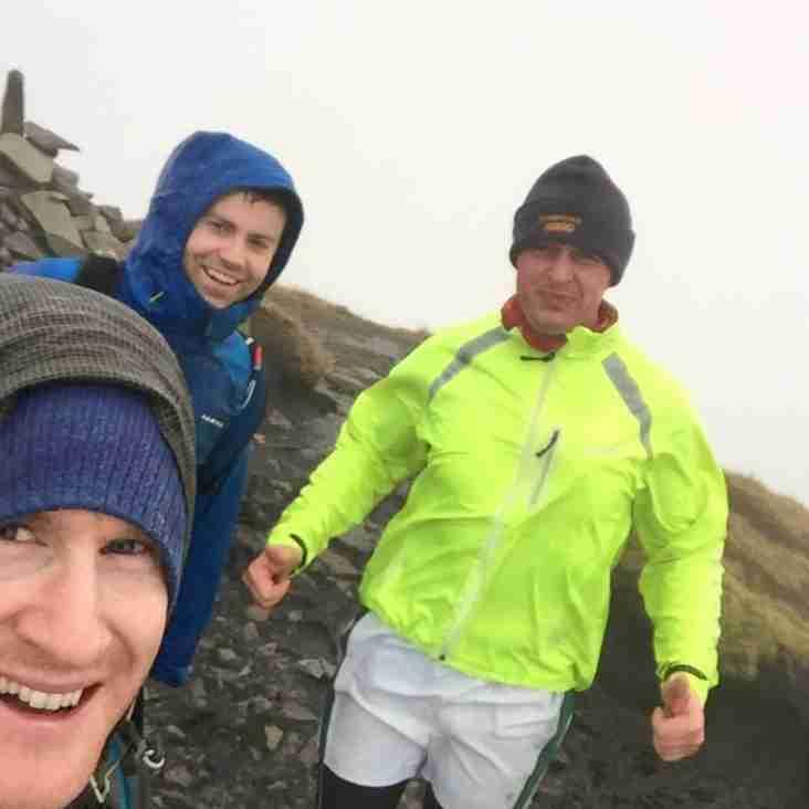 Richard, Joe and Morgan take on the 4 peaks challenge