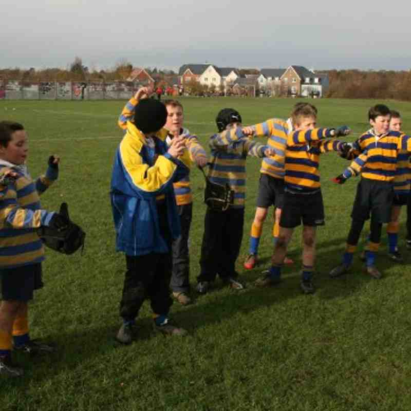Under 10s at Fareham Heathens Nov 2010