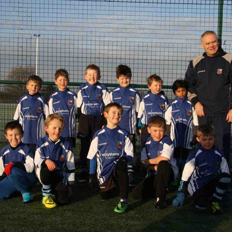 U7s 06 Dec 2014 Festival at Sale v Saracens