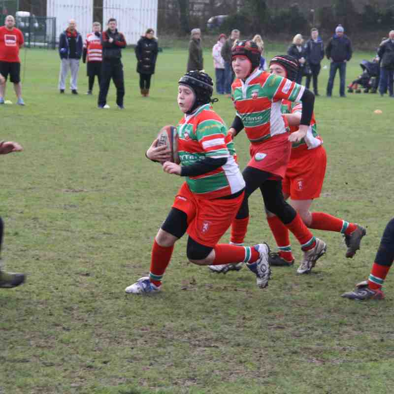 U12 25 Jan 15 Lanc Cup Warrington v Ormskirk v Tyldesley