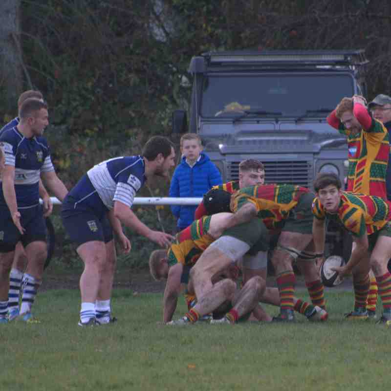 Selby 1st XV away at Pontefract 24.11.18