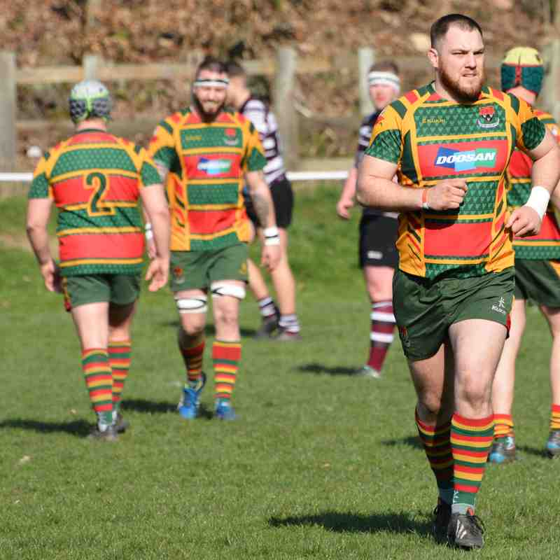Selby 1st XV away v Old Rishworthians 30.03.19