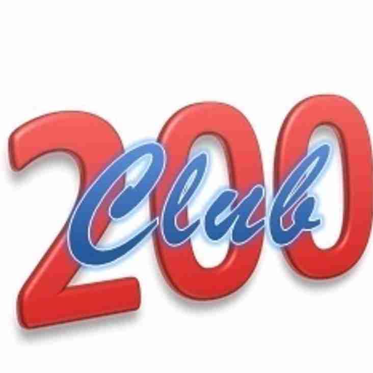 200 Club Update