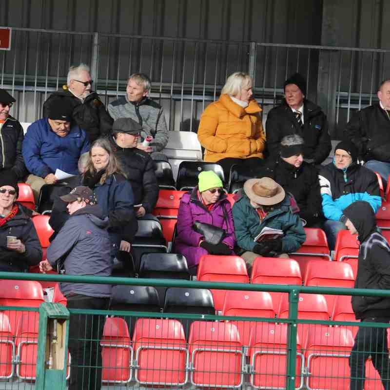 Belper Town - 28th January.  Photo's courtesy of Geoff Atton