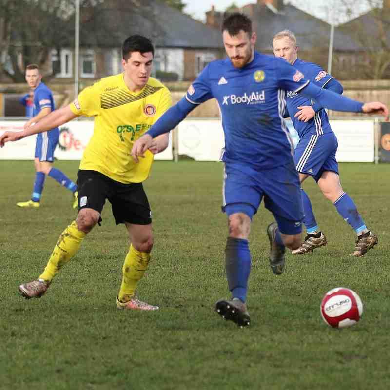 Peterborough Sports - 1st January 2018.  Photo's courtesy of Geoff Atton