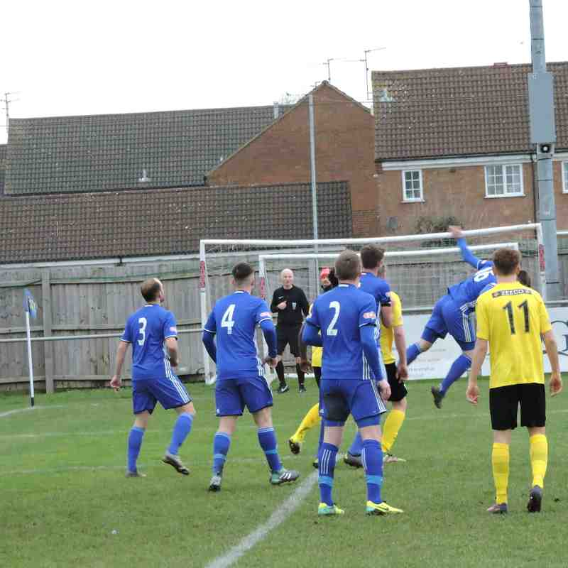 Peterborough Sports - 1st January 2018