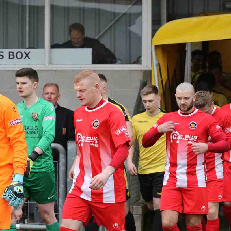 Belper Town - 24th March 2018 - Photo's courtesy of Geoff Atton