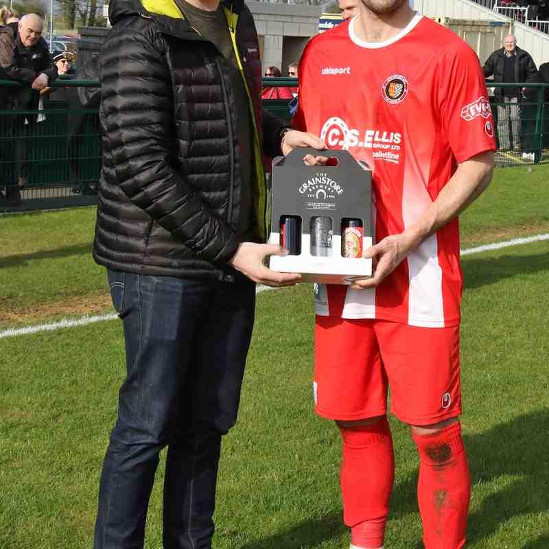 Loughborough Dynamo - 14th April.  Photo's courtesy of Geoff Atton
