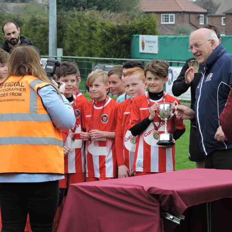 Under 11's V Peterborough Northern Star.  League Cup Final 15th April 2018