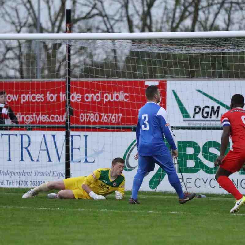 Gresley FC - 23rd April.  Photo's courtesy of Geoff Atton