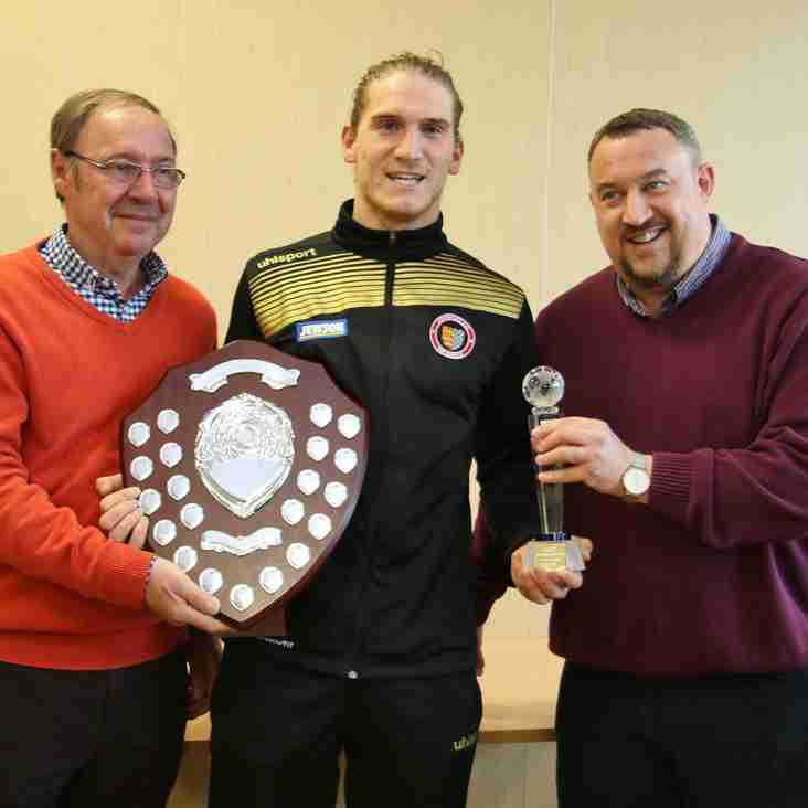Morgan Scoops Supporters Award