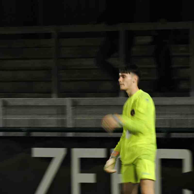Youth Team V Matlock Town - 17th September 2018