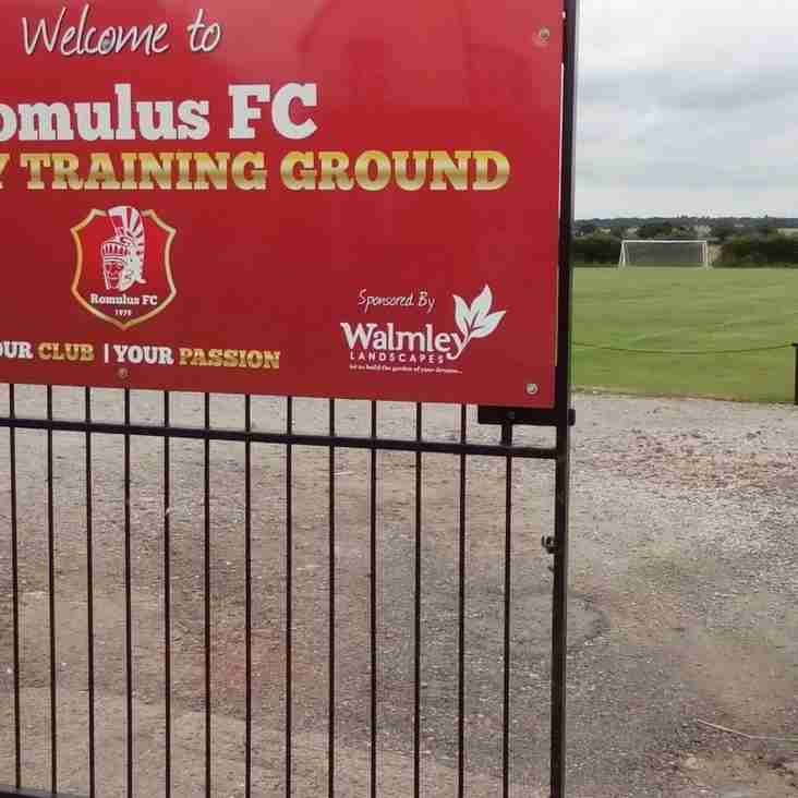 Romulus FC Academy Open Day Event Details