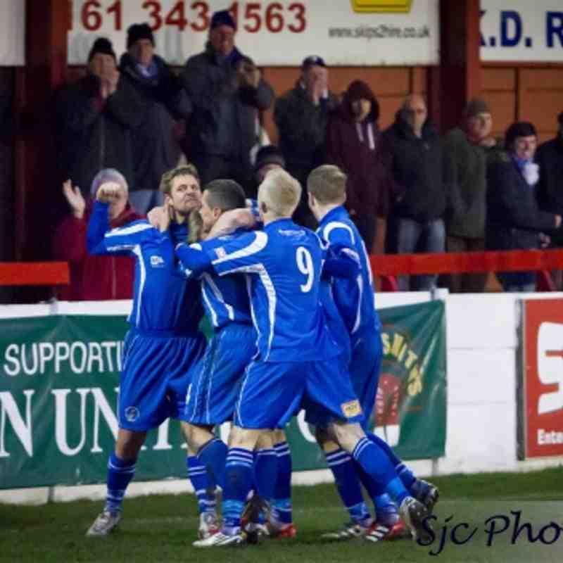 Ashton United 0 - 1 Buxton