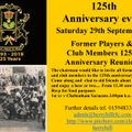 125th anniversary club reunion