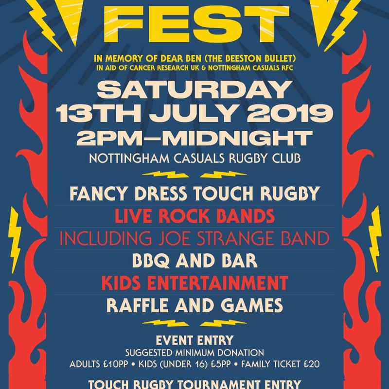 HallamFest 13th July