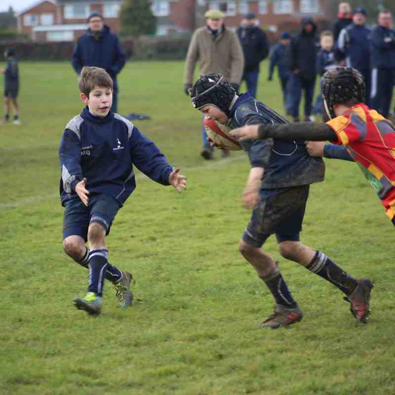 29th January 2017 Newark U11s v Stamford and Peterbourgh
