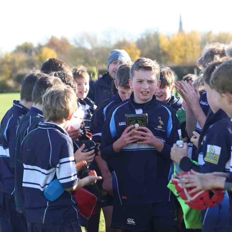 U12 Minis v Sleaford and Lincoln 19th November 2017