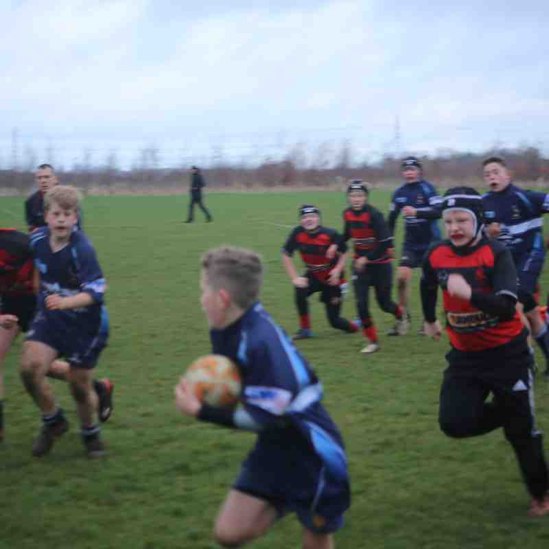 U13 Male v Sleaford 13th January 2019