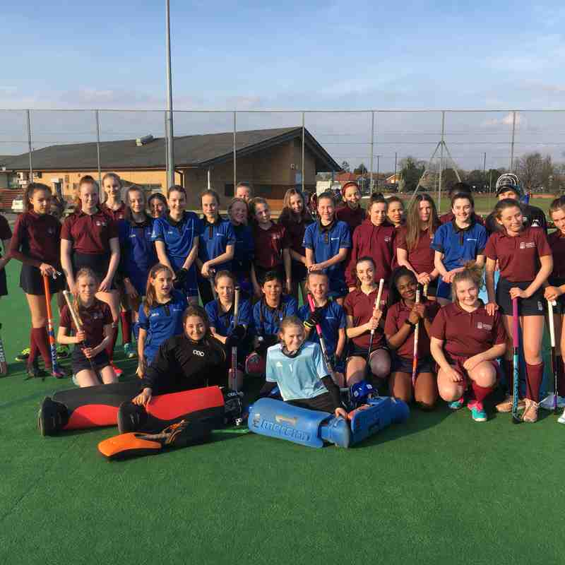 THC Junior Girls vs George Watson College (Touring Teams) - 30 March 2019
