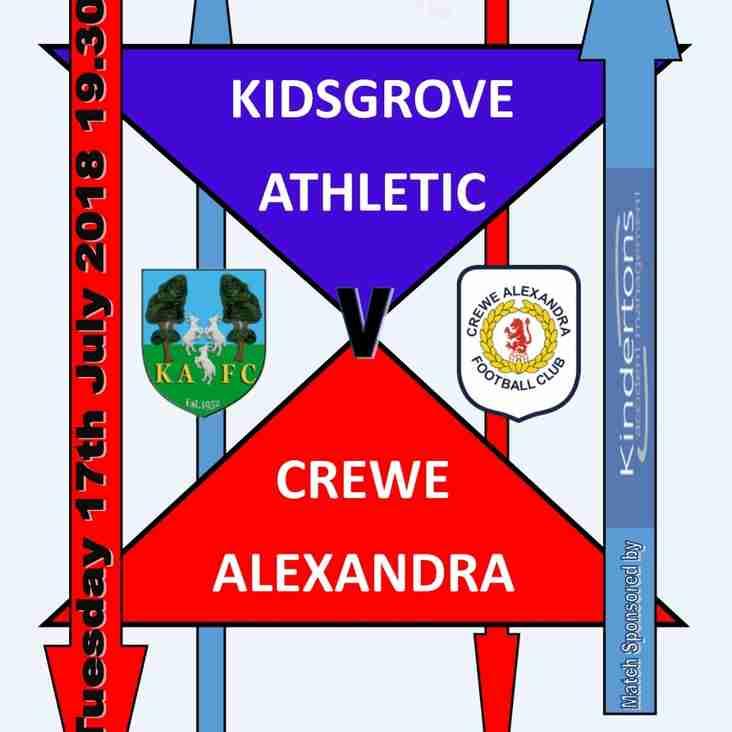 Pre Season Fixture