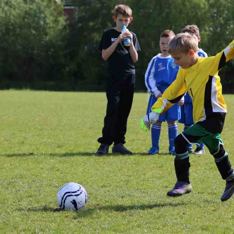Meteors u8s vs Astley + Tyldesley Warriors Friendly 22-05-16