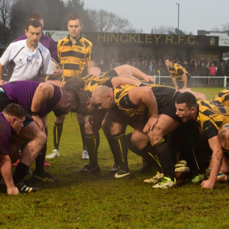 Lions host Hinckley in final home game of the season. 2pm kick off