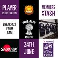 NATWEST RUGBY FORCE 24TH JUNE