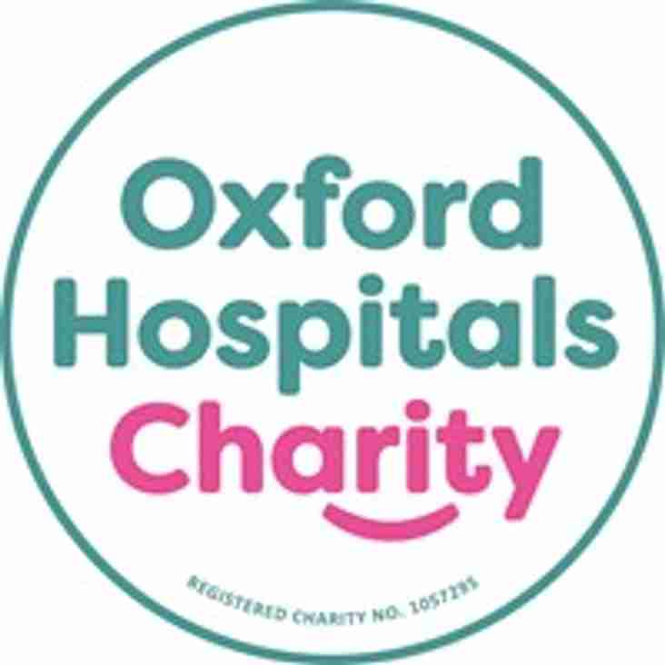 Memorial Game Raised £1000 for Oxford Hospitals Charity