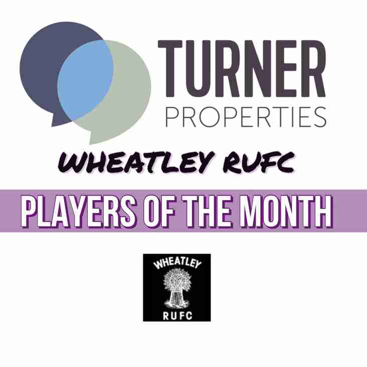 December Turner Properties Players of the Month