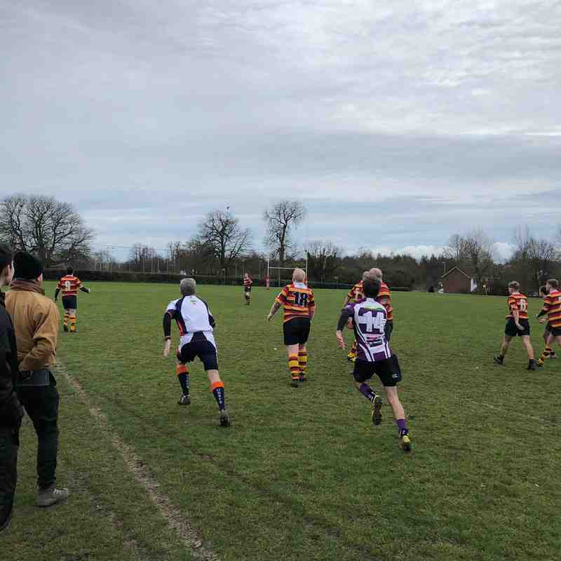 Outlaws vs Bicester